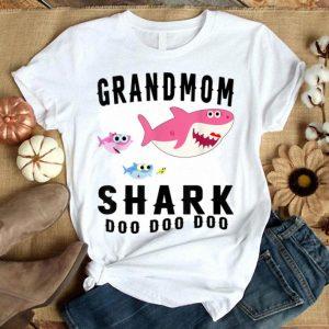 Premium Grandmom Shark Mother Grandma Halloween Christmas shirt