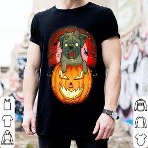 Premium Halloween Pug Zombie Jack O Lantern Dog Puppy Pumpkin Gifts shirt