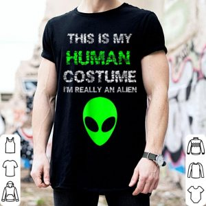 Top Budget Alien Halloween Costume I'm Really An Alien shirt