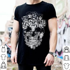 Top Rottweiler Dog Skull Best Halloween Costume shirt