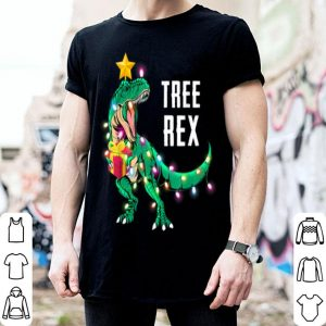 Awesome Christmas Gift for Boys Kids Dinosaur Tree Rex Pajamas Men shirt