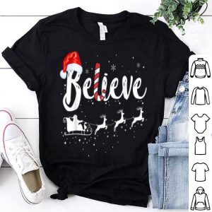 Beautiful Believe in Santa Claus Family Christmas Gift shirt