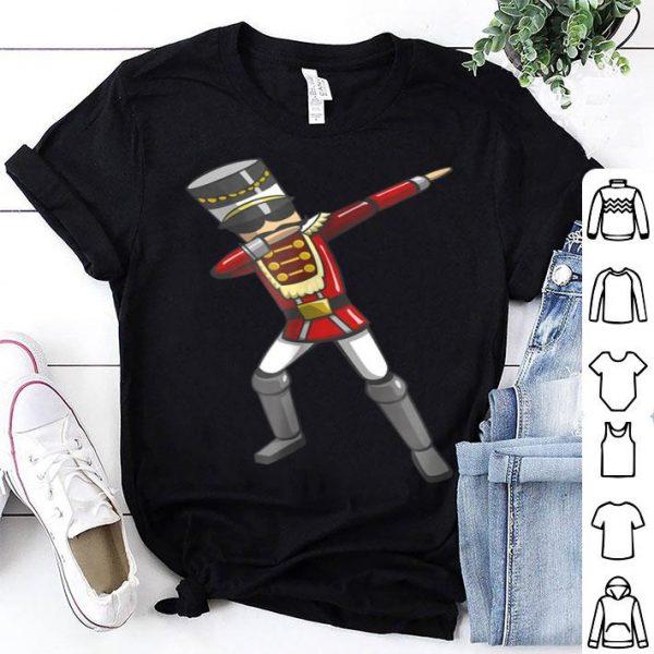 Beautiful Dabbing Nutcracker Soldier Toy Christmas Dab Dance shirt