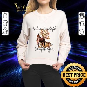 Cheap Horse it's the most wonderful time of the year shirt 1