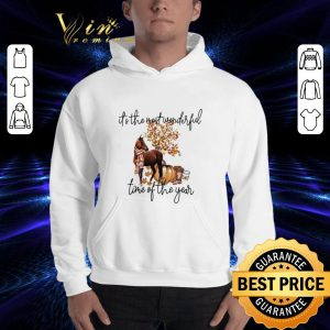Cheap Horse it's the most wonderful time of the year shirt 2