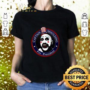 Cool Captain Spaulding For President shirt