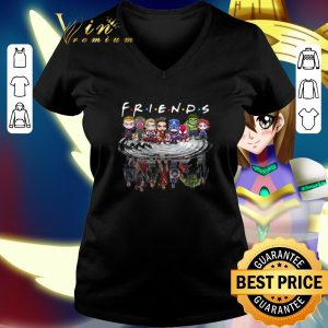 Cool Friends Avengers Chibi characters reflection shirt