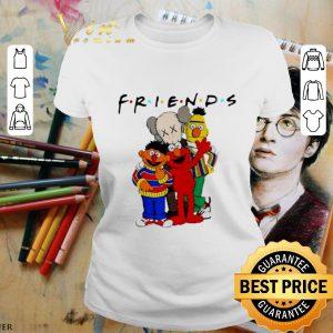 Cool Friends Kaws and Sesame Street shirt