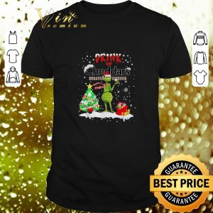 Cool Grinch Drink Up Cheddar's Scratch Kitchen Christmas shirt