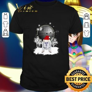 Cool R2D2 Santa Christmas Death Star Star Wars shirt