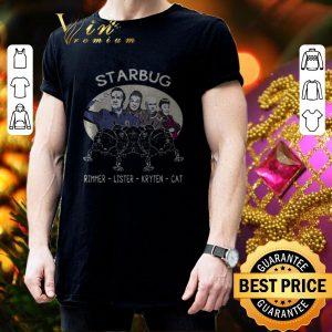 Cool Starbug Red Dwarf Arnold Rimmer Lister Kryten Cat shirt 2