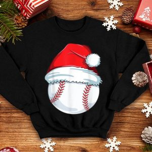 Hot Christmas Baseball For Kids Men Ball Santa Pajama shirt