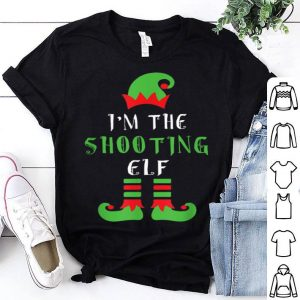 Hot I'm The Shooting Elf Matching Family Christmas sweater