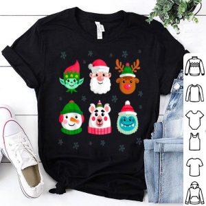 Nice Christmas Holidays Xmas Santa Reindeer Elf Bear Yeti Snowman shirt