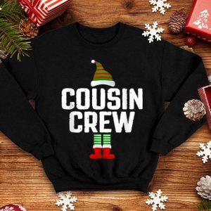 Nice Cousin Crew Elf Squad Family Group Matching Christmas Pajama shirt