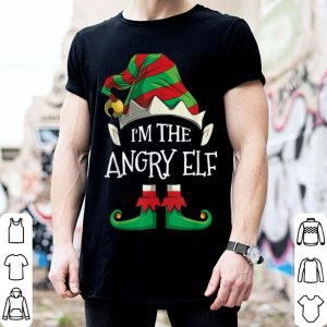 Nice I'm The Angry Elf Family Matching Christmas Gifts shirt