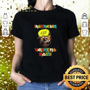 Nice Iron Maiden Valentino Rossi shirt 1