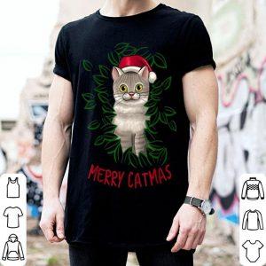 Nice Merry Catmas Christmas Cat Santa Hat Cute Cat Lover Gift sweater