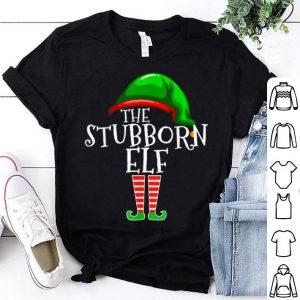 Nice Stubborn Elf Group Matching Family Christmas Gift Costume shirt