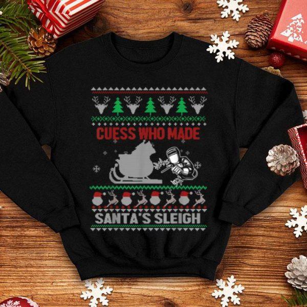 Nice Ugly christmas Welder Tee Funny Xmas Gift Welders shirt