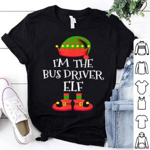 Official I'M THE Bus Driver ELF Christmas Xmas Elf Group Costume sweater