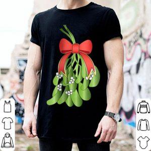Original MISTLETOE Dirty Santa Xmas Funny Adult Humor Ugly Gift shirt