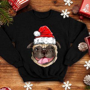 Original Pug Santa Christmas Kids Boys Girls Xmas Gifts Hat shirt