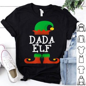 Premium Dada Elf Christmas Funny Xmas Gift shirt
