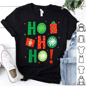 Premium HO HO HO Christmas Gifts Lights Party Xmas Holidays Family shirt