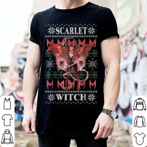 Premium Marvel X-Men Scarlet Witch Ugly Christmas Sweater shirt