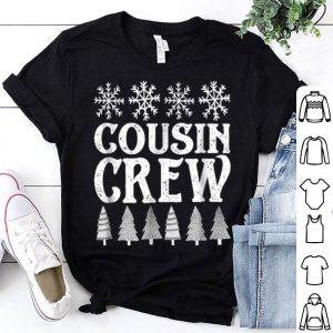 Premium Matching Family Christmas Cousin Crew shirt