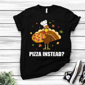 Premium Thanksgiving for Kids Boys Men Pizza Turkey Day Gifts shirt