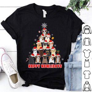 Pretty Dog Lover Christmas Tree Gift shirt
