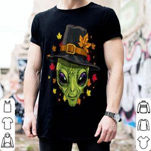 Pretty Thanksgiving Alien Pilgrim Costume Men Women shirt