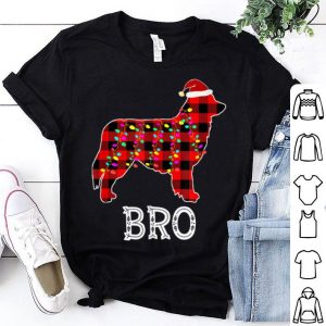 Top Australian Shepherd Bro Matching Family Pajama Christmas shirt