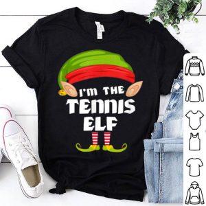 Top Tennis Elf Matching Family Group PJ Christmas shirt