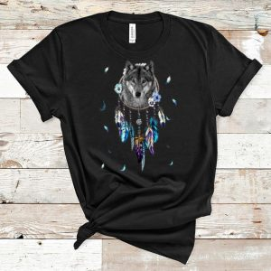 Awesome Dreamcatcher Wolf shirt
