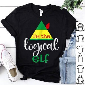 Awesome I'm The Logical Elf Matching Group Family Christmas sweater