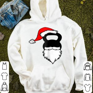 Beautiful Kettlebell Santa Hat And Beard Christmas Workout sweater