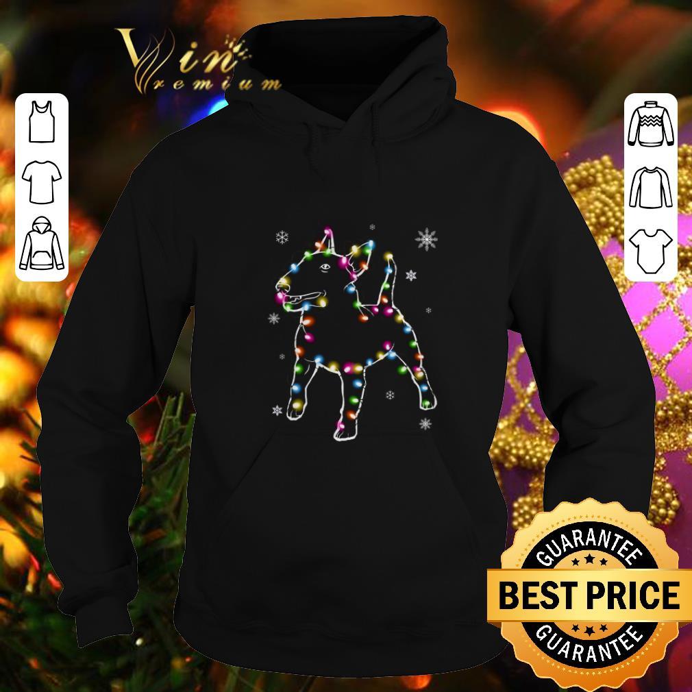 Cool Bull Terrier Christmas lights shirt 4 - Cool Bull Terrier Christmas lights shirt