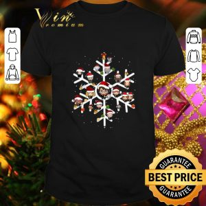 Cool Harry Potter Characters On Snowflakes shirt