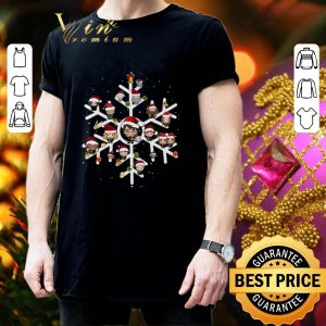 Cool Harry Potter Characters On Snowflakes shirt 2