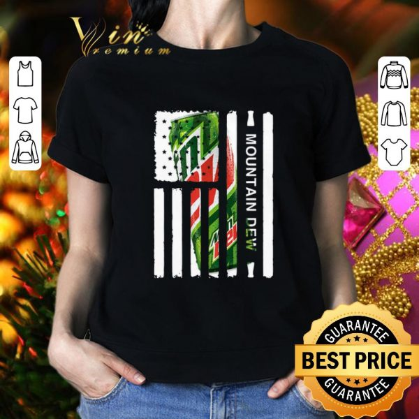 Cool Mountain Dew American flag shirt