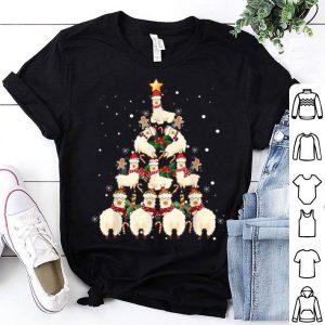 Llama Christmas Tree Llama Xmas sweater