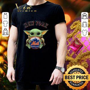 Nice Baby Yoda Hug New York Mets Star Wars shirt 2