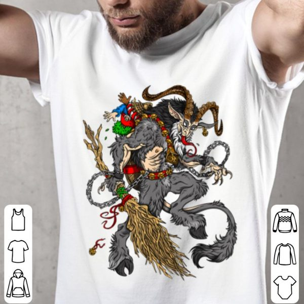 Nice Christmas Krampus Comin' For The Naughty Listers sweater