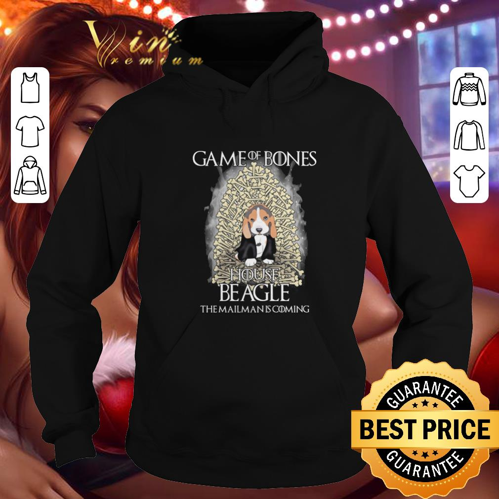 Nice Game of bones house Beagle the mailman is coming shirt 4 - Nice Game of bones house Beagle the mailman is coming shirt