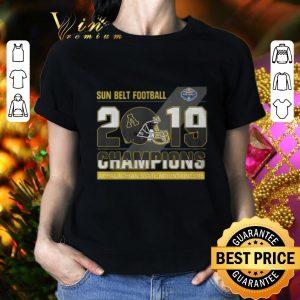Nice Sun Belt Football 2019 Champions Appalachian State Mountaineers shirt