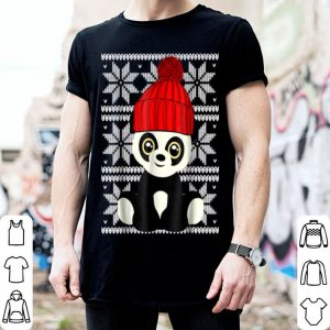 Nice Ugly Christmas Panda Bear Toy Cute Kids Holiday Gift sweater