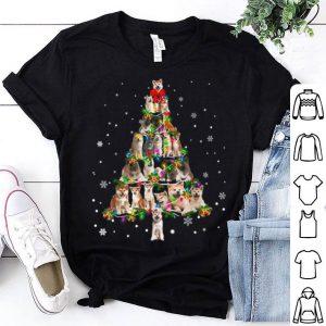 Official Cute Akita dog Christmas Tree gift decor Xmas tree sweater